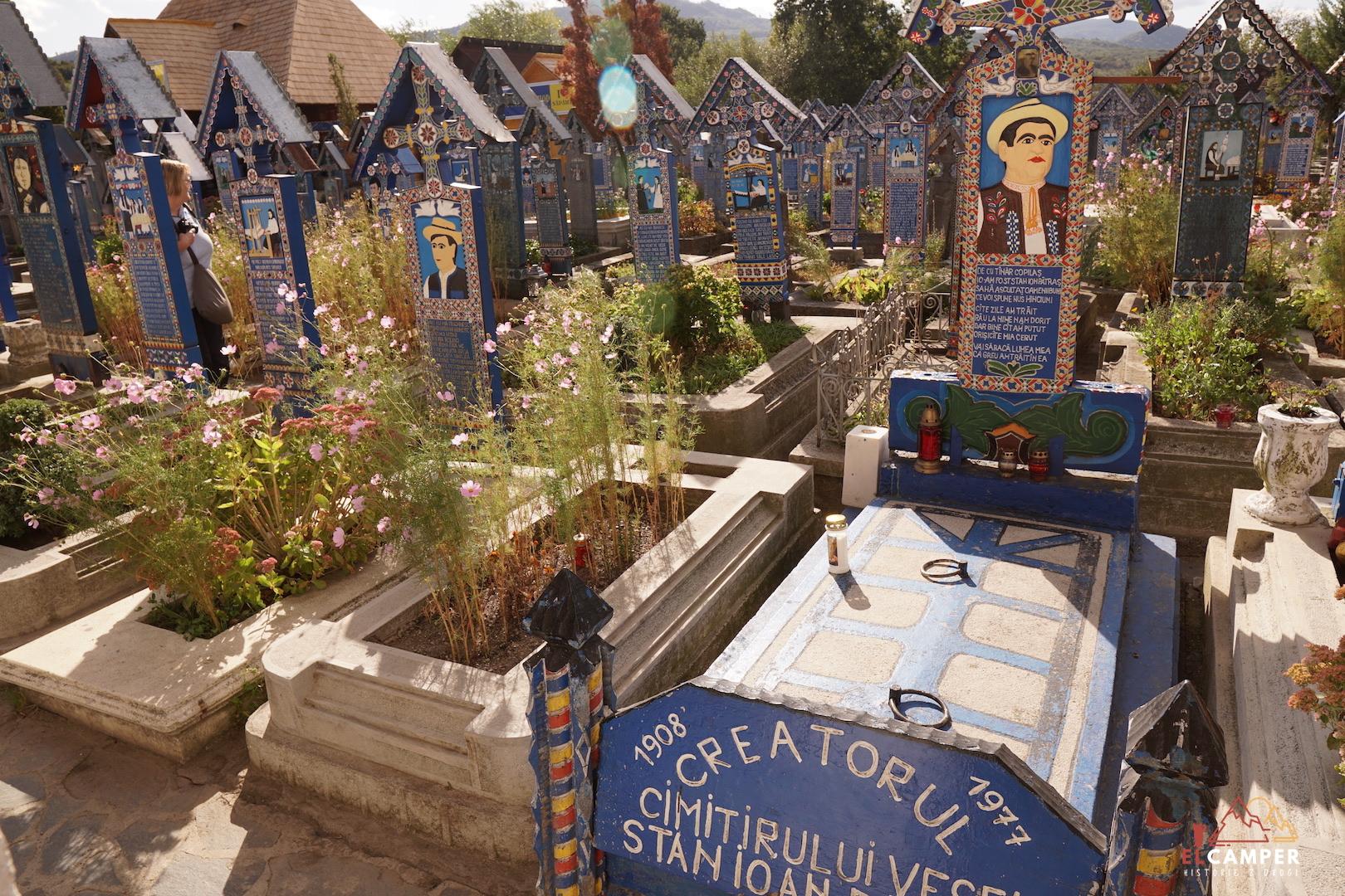 Rumunia Wesoły cmentarz campervan life box truck
