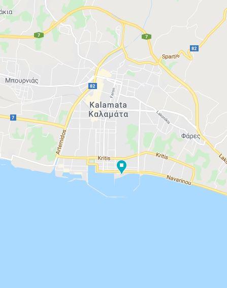 13 kalamata Grecja kamperem Elcamper gdzie parkować nocleg na dziko vanlife greece campervan boxtruck