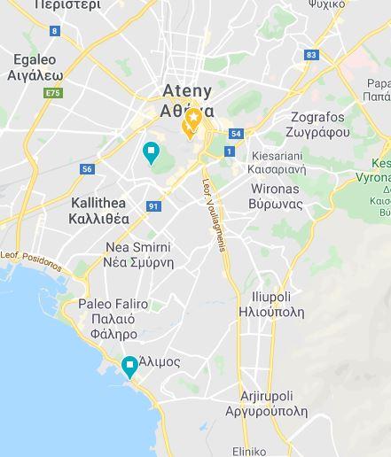 16 Ateny akropol Grecja kamperem Elcamper gdzie parkować nocleg na dziko vanlife greece campervan boxtruck